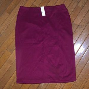 NWT pencil skirt from NY & Co - read description